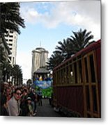 New Orleans - Mardi Gras Parades - 121239 Metal Print