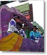 New Orleans - Mardi Gras Parades - 12124 Metal Print
