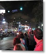 New Orleans - Mardi Gras Parades - 121243 Metal Print