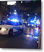 New Orleans - Mardi Gras Parades - 121253 Metal Print