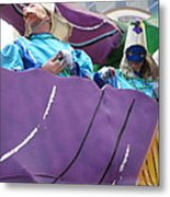 New Orleans - Mardi Gras Parades - 12127 Metal Print by DC Photographer