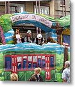 New Orleans - Mardi Gras Parades - 121282 Metal Print