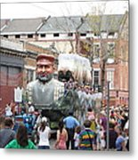 New Orleans - Mardi Gras Parades - 121285 Metal Print