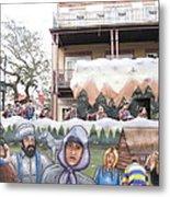 New Orleans - Mardi Gras Parades - 121288 Metal Print