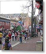 New Orleans - Mardi Gras Parades - 121290 Metal Print
