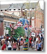 New Orleans - Mardi Gras Parades - 121291 Metal Print