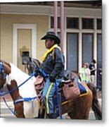 New Orleans - Mardi Gras Parades - 121299 Metal Print