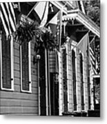 New Orleans Row Houses Metal Print