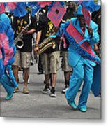 New Orleans Second Line Metal Print