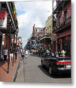 New Orleans - Seen On The Streets - 12122 Metal Print