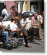 New Orleans - Seen On The Streets - 121234 Metal Print