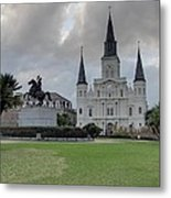 New Orleans - Seen On The Streets - 121240 Metal Print