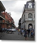 New Orleans - Seen On The Streets - 121241 Metal Print