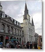 New Orleans - Seen On The Streets - 121242 Metal Print