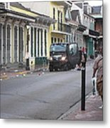 New Orleans - Seen On The Streets - 121252 Metal Print