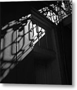 New Orleans Shadowplay Metal Print