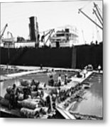 New Orleans Shipping, 1903 Metal Print