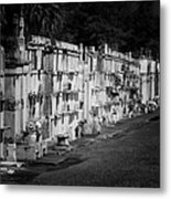 New Orleans St Louis Cemetery No 3 Metal Print by Christine Till
