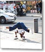 New Orleans - Street Performers - 121211 Metal Print
