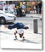 New Orleans - Street Performers - 121212 Metal Print