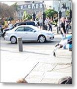 New Orleans - Street Performers - 121214 Metal Print