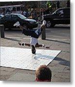 New Orleans - Street Performers - 121218 Metal Print