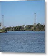 New Orleans - Swamp Boat Ride - 121223 Metal Print