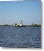 New Orleans - Swamp Boat Ride - 121228 Metal Print