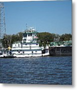 New Orleans - Swamp Boat Ride - 121229 Metal Print