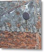 New Orleans Wall Metal Print