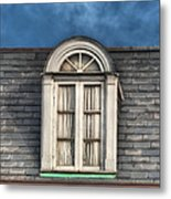 New Orleans Window Metal Print by Brenda Bryant