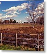 New Paltz Farm Metal Print