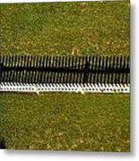 New Perspective Of The Picket Fence Metal Print