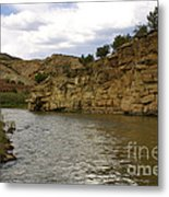 New Photographic Art Print For Sale Banks Of The Rio Grande New Mexico Metal Print