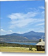 New Photographic Art Print For Sale Cabin At The Ghost Ranch New Mexico Metal Print