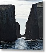 New Photographic Art Print For Sale Californian Channel Islands And Pacific Ocean Metal Print