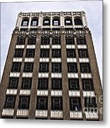 Vacant Downtown Building Los Angeles 3 Metal Print