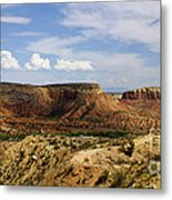 Ghost Ranch Landscape New Mexico 12 Metal Print