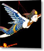 Iconic London Camden Puppets The Flying Princesses Metal Print