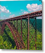 New River Gorge Metal Print