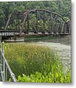 New River Scene 14 B Metal Print