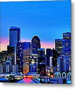 New Seattle Day Metal Print