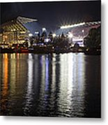 New Husky Stadium Reflection Metal Print