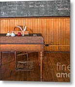 New Teacher Metal Print