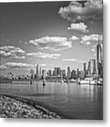 New World Trade Center Bw Metal Print