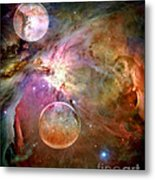 New Worlds Metal Print