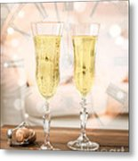 New Year Celebration Metal Print