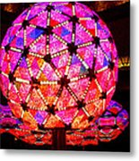 New Year's Ball Metal Print