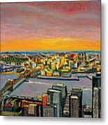 New York 38 Metal Print