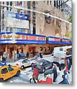 New York 4 Metal Print